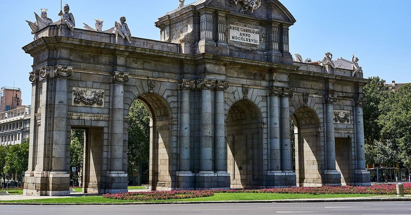 Architecture in Madrid| ©NakNakNak/Pixabay