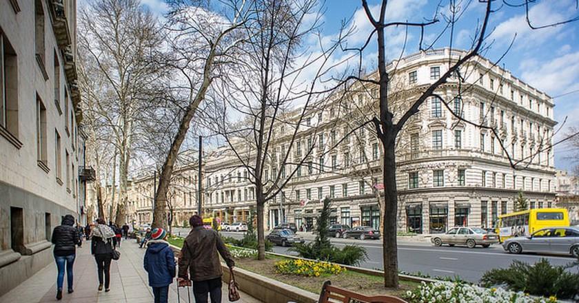 Rustaveli Avenu in Tbilisi | © Casal Partiu / Flickr
