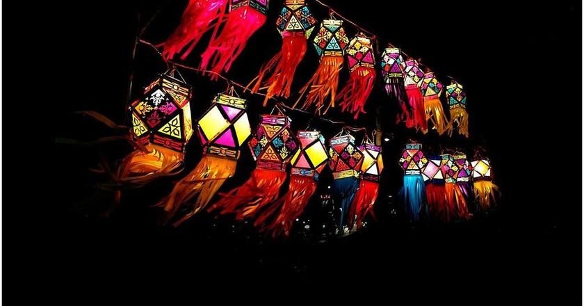 Traditional Diwali lanterns | © Ramnath Bhat/WikiCommons