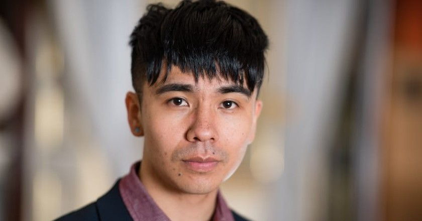 Ocean Vuong – 'Night Sky With Exit Wounds' (Cape Poetry), TS Eliot Prize Winner | © Adrian Pope