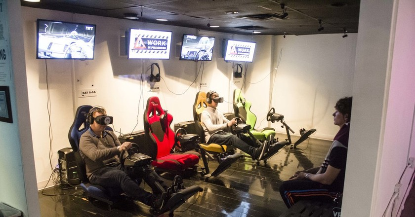 Inside New York's Largest Virtual Reality Arcade