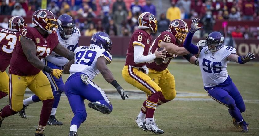 Washington Redskins, Minnesota Vikings | © Keith Allison / Flickr