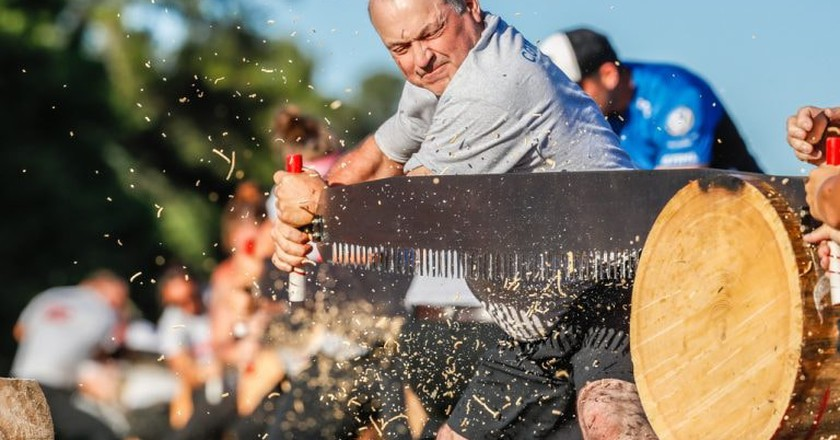 © Lumberjack World Championships / Netz