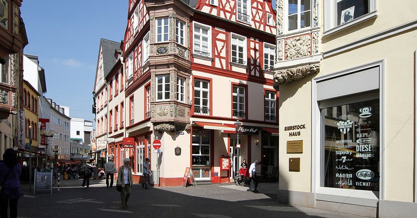 Marktstraße in the old town | © HOWI / WikiCommons