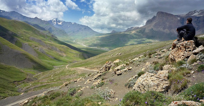 The mountainous region where Azerbaijani's live up to 100 years old   © Matthew Hadley/WikiCommons