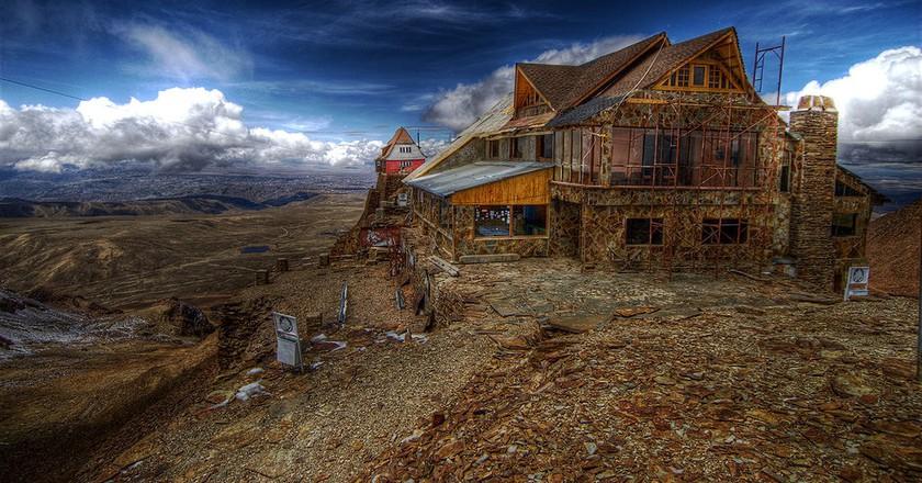 Chacaltaya, former ski resort   © Ville Miettinen / WikiCommons