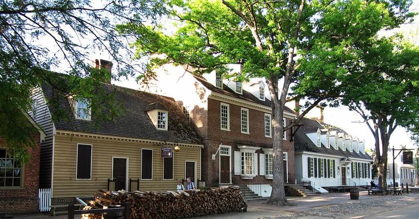 Duke of Gloucester Street in Colonial Williamsburg | © Sebastian Hirsch / WikiCommons