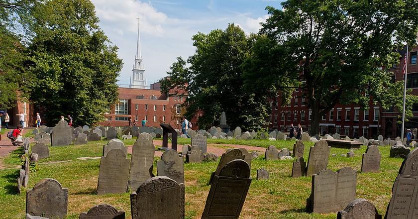 Copp's Hill Burying Ground | ©Jan Miller / WikiCommons