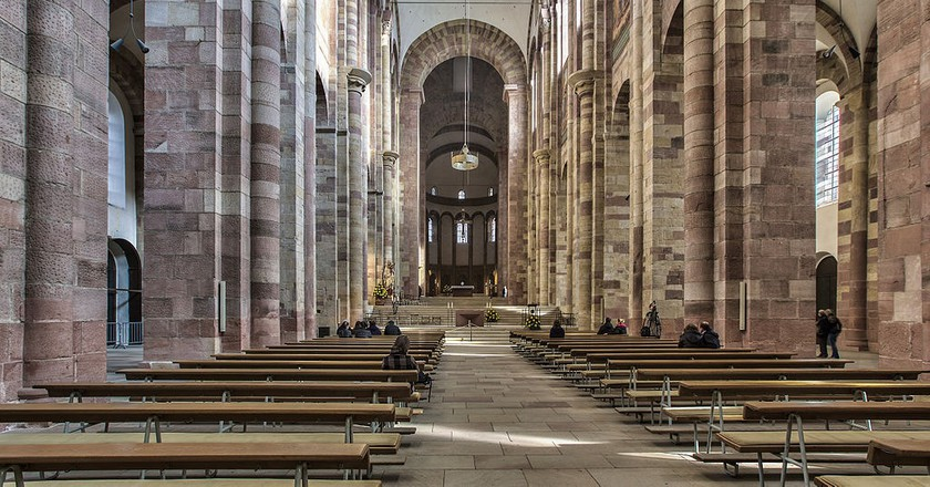 Speyer Cathedral   © Harro52/Wikimedia Commons