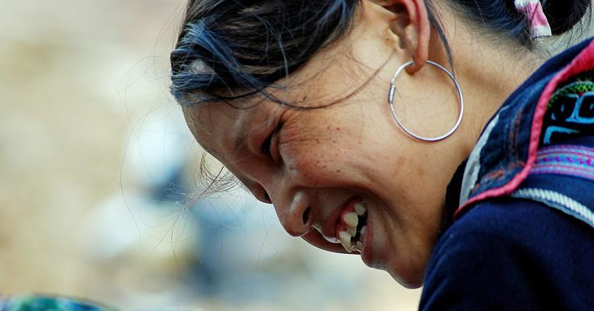 Hmong Woman | © Mr. Theklan / Flickr