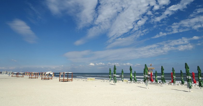 The beach at Mamaia, Romania I © Alexandru Panoiu / Flickr