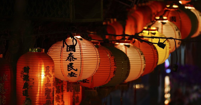 Lanterns in Taipei | © Romain Pontida / Flickr
