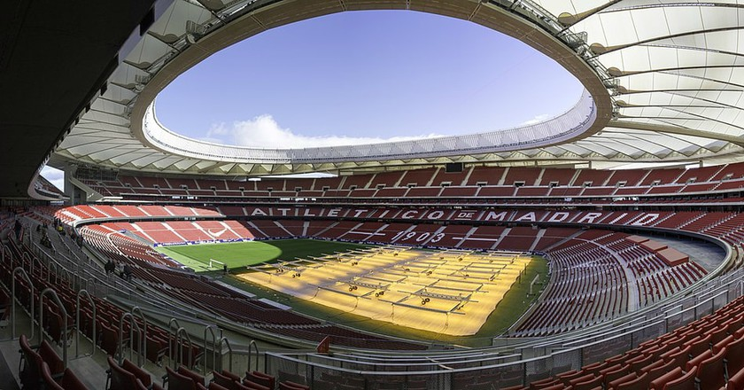 The Wanda Metropolitano | © Fernandopascullo/Wikipedia Commons