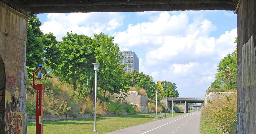 Dequindre Cut   © Andrew Jameson/WikiCommons
