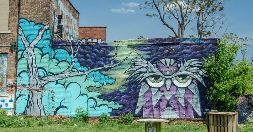 Street Art in Detroit | © Morgan Davis / Flickr