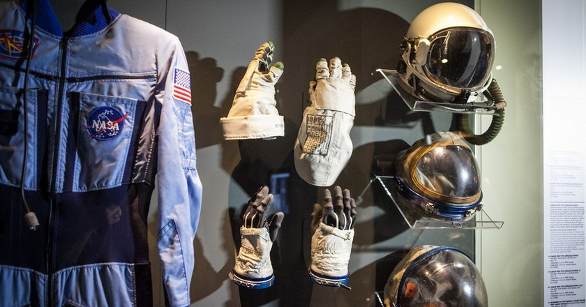 Space travel display at Museo Nazionale Scienza Tecnologia, Milan | Courteys Archivio Museo Nazionale Scienza Tecnologia Photo: Paolo Soave