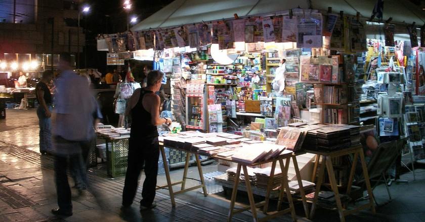Greek kiosk, or periptero | © Daniel Lobo/Flickr