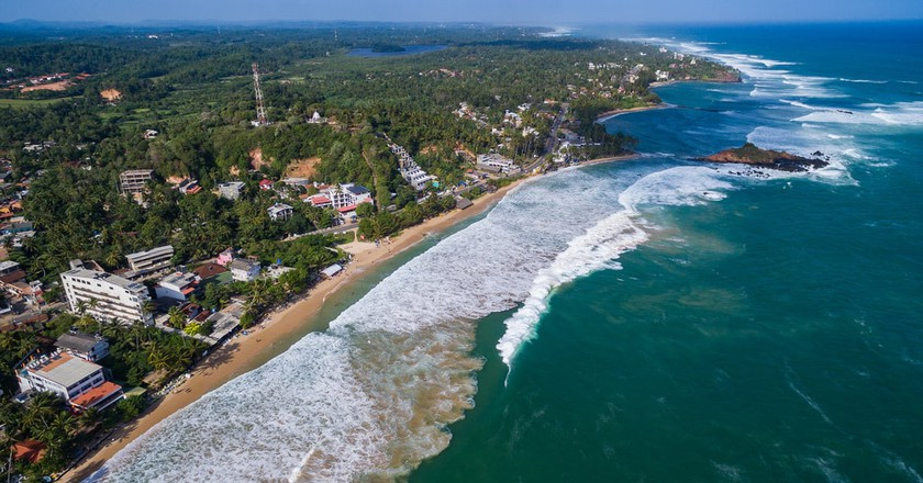 Sri Lanka, only a few hours away from the UAE, remains a popular getaway   © dronepicr/Flickr