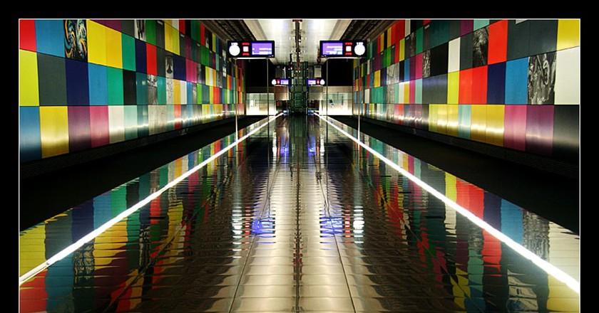 Munich train station   © Anthony Joh / Flickr