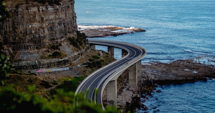 Sea Cliff Bridge | © Tim Brennan / Flickr