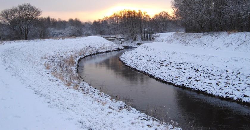 The River Mersey in West Didsbury   © Paul Albertella / Flickr