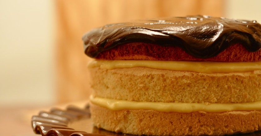 Boston Cream Pie | © Kimberly Vardaman / Flickr