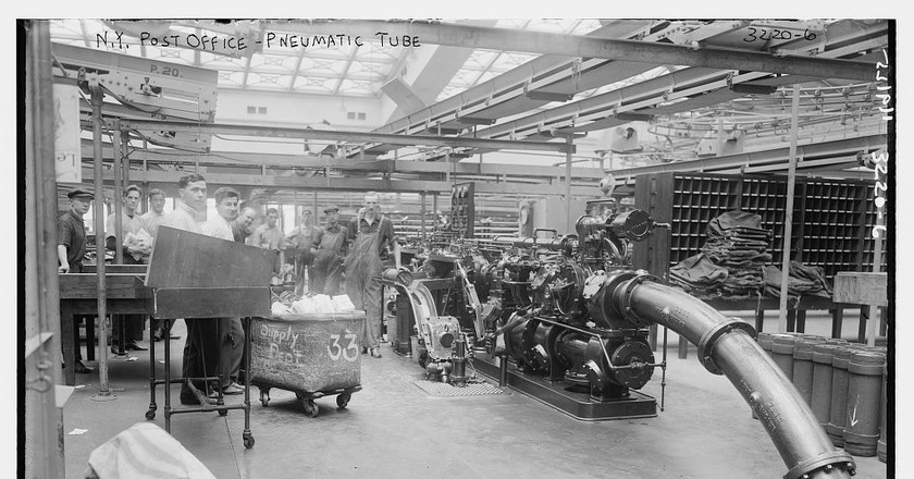 The Pneumatic Tubes of New York City