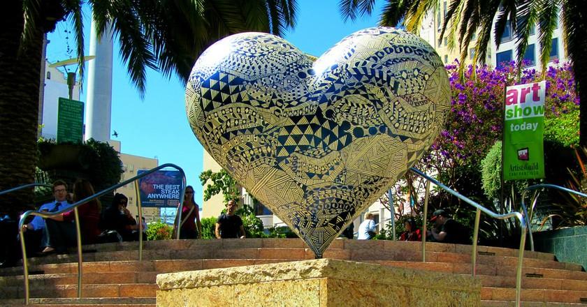 Hearts in San Francisco | © Tony/Flickr
