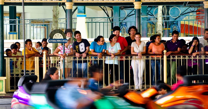 Bumper cars at Xetulul amusement park, Guatemala | © Eduardo Robles Pacheco / Flickr