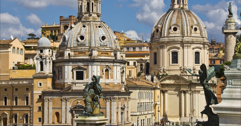 Rome skyline | © Bert Kaufmann/Flickr