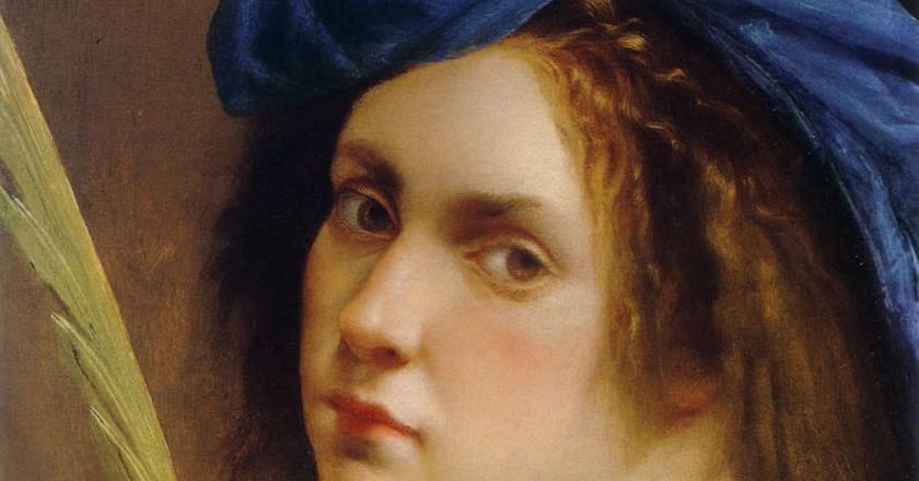 Artemisia Gentileschi, 'Self-Portrait as a Female Martyr', 1615 | © WikiCommons