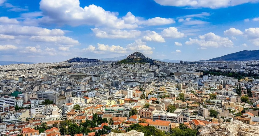 The Real Story Behind How Athens Got Its Name