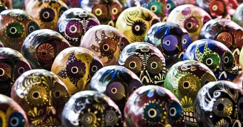 Porcelain skulls | © AndyG / Pixabay