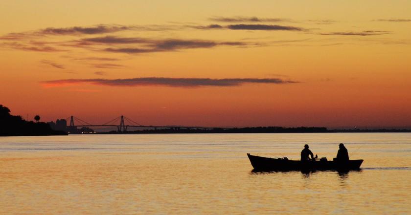 Sunset over Corrientes