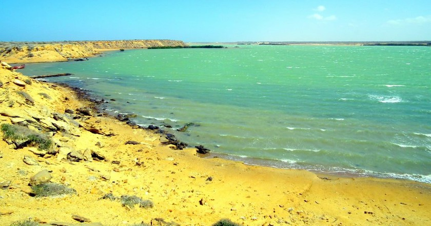 Beach in La Guajira