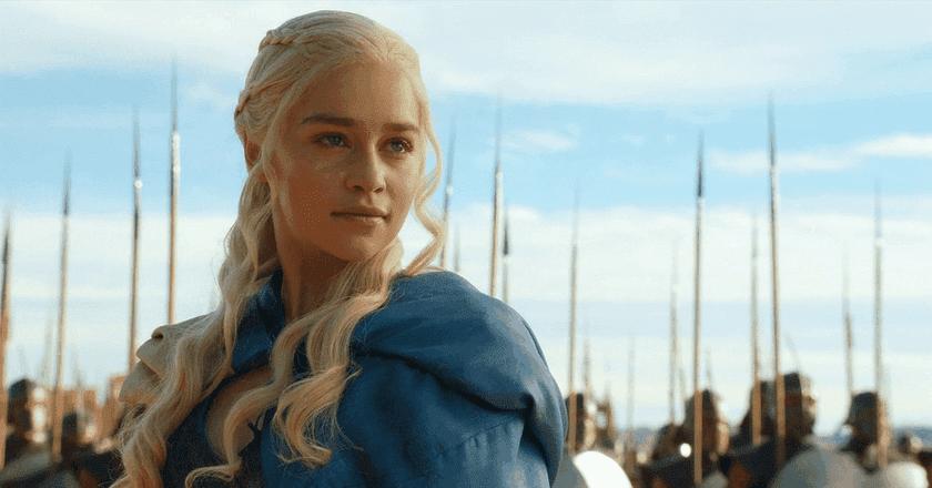 Emilia Clarke as Daenerys Targaryen in Game Of Thrones/©HBO/Warner Bros. Television Distribution