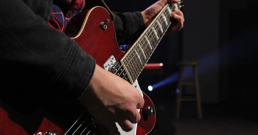 Guitar player | © Pixabay