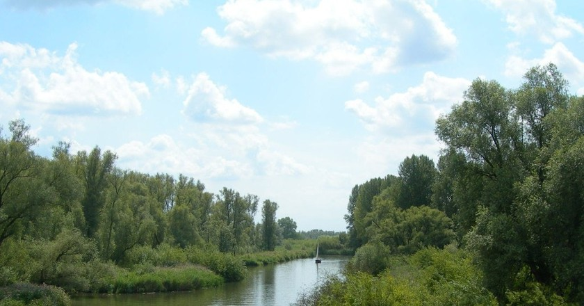 A canal in the Biesbosch | © Baykedevries / WikiCommons
