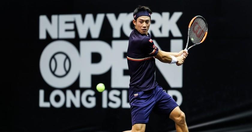 Kei Nishikori   © J. Alex Smith/New York Open