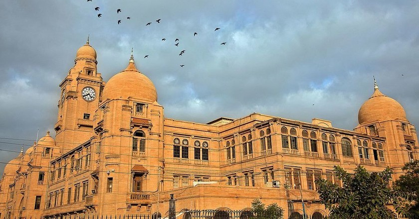 Karachi Municipal Corporation office building, Karachi   © Furqanlw/WikiCommons