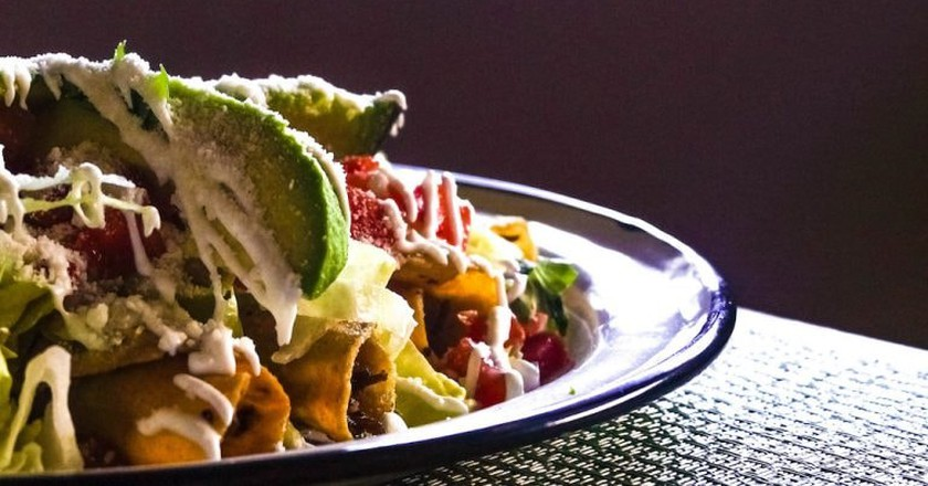 Tuck in to a tasty Mexican feast