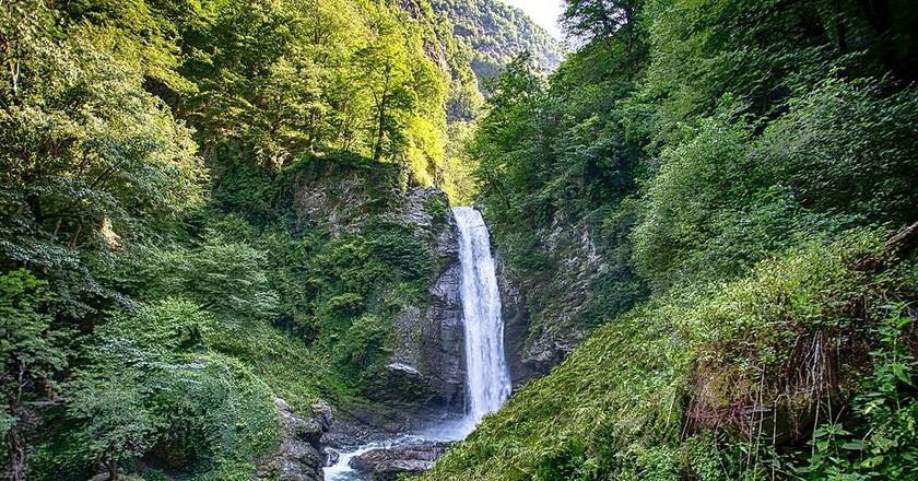 Ninoskhevi waterfall | © Paata Vardanashvili / WikiCommons