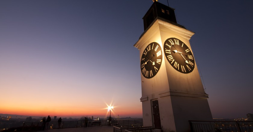 Petrovaradin's unusual clock | © Impact Photography/shutterstock