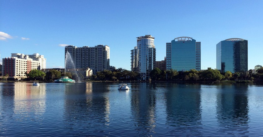 Lake Eola, downtown Orlando | © Jared / Flickr