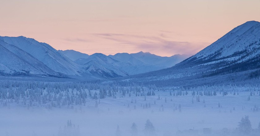 Oymyakon forests   © Maarten Takens / WikiCommons