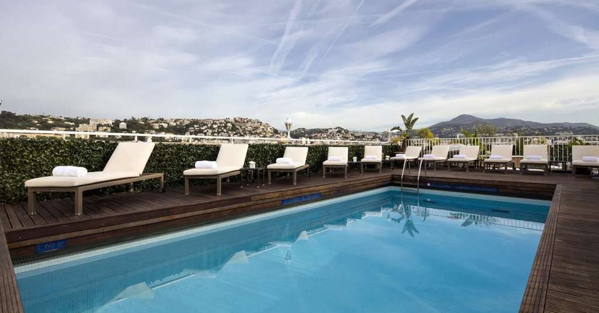 The rooftop pool that is simply splendid at the Splendid Hotel & Spa in Nice  © Courtesy of Splendid Hotel & Spa