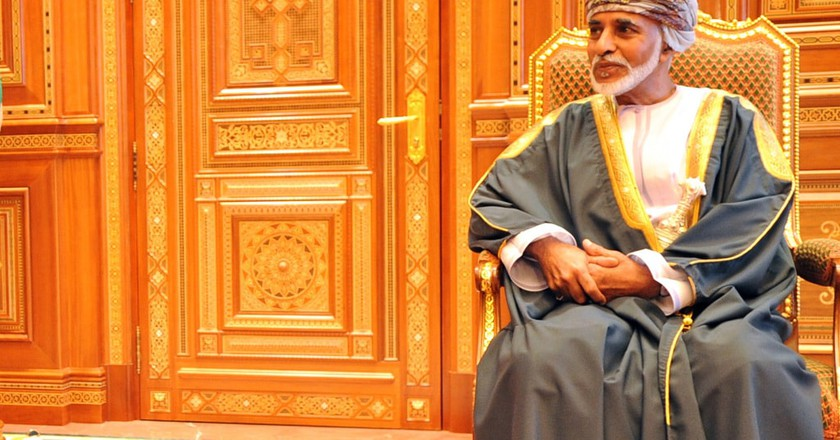 Sultan Qaboos Bin Said, Sultan of Oman I © US Department of State / WikiCommons