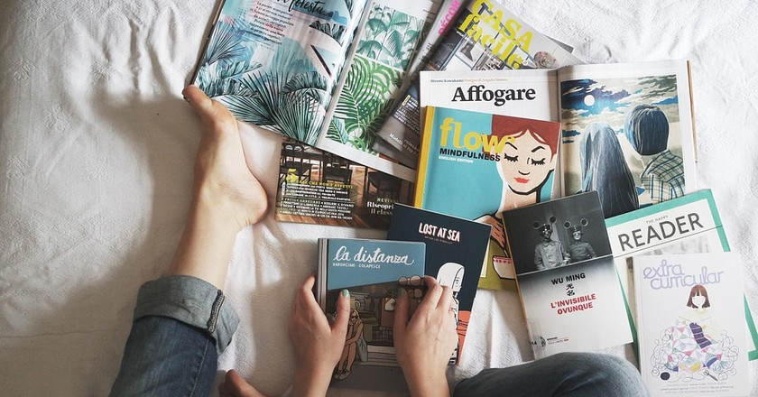 Stockholm has some excellent magazines   © StockSnap / Pixabay