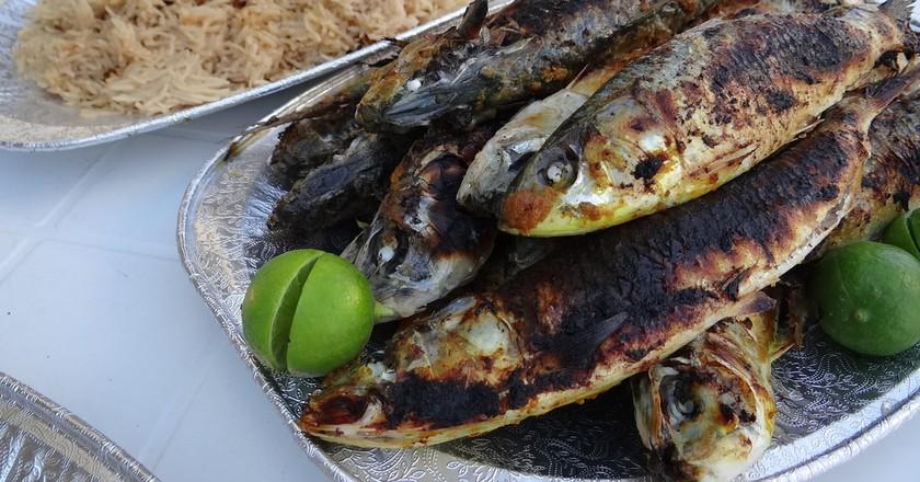 Salalah sardines | © Andrew Eames