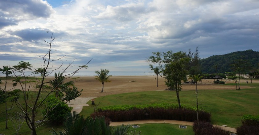 View of Pantai Dalit from the resort | © Sam Bedford